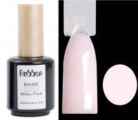 Haft-Gel RUBBER Pink Milky 15ml, schnellhärtend