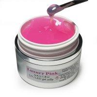 """Aufbau-Gel """"Luxury Pink"""" 30 ml , Gelee-Gel UV/LED"""