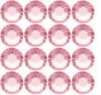 Glittersteine Swarovski SS2 50 St. Rosa 2mm