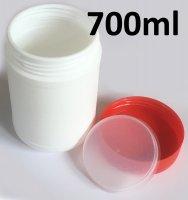 Leer Dose white 700ml / 500g