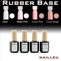 Haft-Gel RUBBER Cover Pink 15ml, schnellhärtend,...